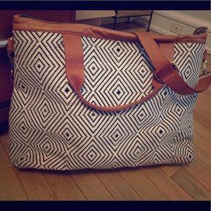 Weekender bag from Anthropology
